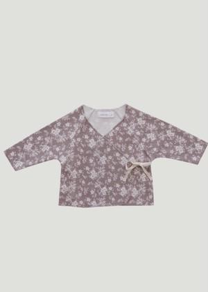 【Jamie Kay】Wrap top-Fawn Floral