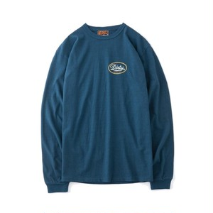 """AT-DIRTY(アットダーティー) / """"ANY DAYS L/S TEE""""(BLUE)"""