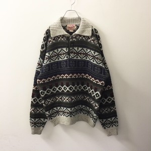 Woolrich ニットポロシャツ size L メンズ古着