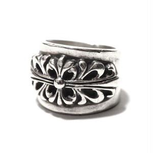 Vintage Sterling Silver Mexican Flower Ring