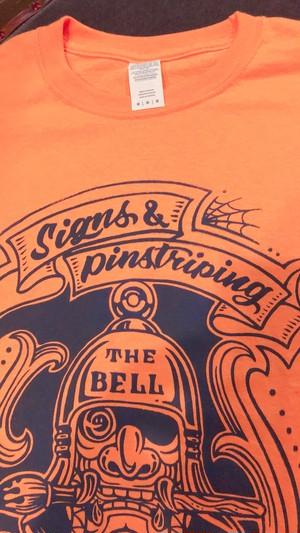長袖Tシャツ ネオンカラー Bell Designオリジナル