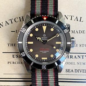 W.MT WATCH SEA DIVER  Mat Tropical Red Top Bond  WMT1421-03