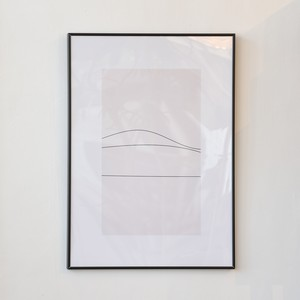 ポスター50cm×70cm /simple line(フレーム付き)