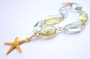Healing green bracelet