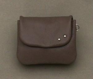 ソフトミニ財布(グレイッシュブラウン)No.02004-01