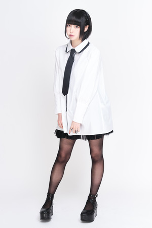 じゅじゅ ブラウス(レディース)+ ボウタイセット