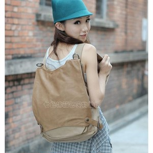 Casual Canvas Backpack Vintage Travel Backpack カジュアル バックパック リュック ビンテージ (YYB99-4931806)