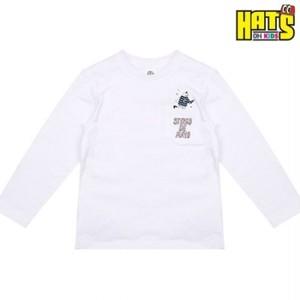 HATS-ON(ハッツオン)-ELSTINKO KidsロングTシャツ 1010