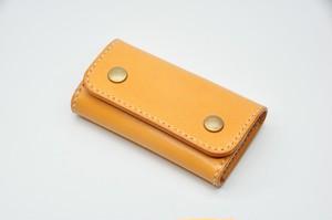 ヌメ革6連キーケース