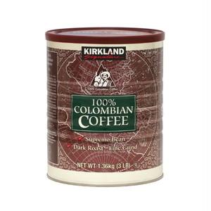 コストコ カークランドシグネチャー コロンビアコーヒー(粉)1.36kg | Costco Kirkland Signature Colombian coffee (powder) 1.36kg