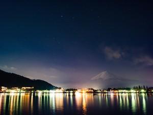 [8245160]富士山とおおいぬ座