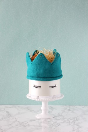 ダイパーケーキ(おむつケーキ)【COCOFAIRY(コオフェアリー)Blue】リニューアル(Sサイズおむつ使用)