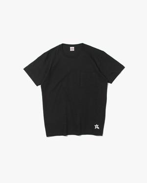 STAR POCKET T-SHIRT / BLACK