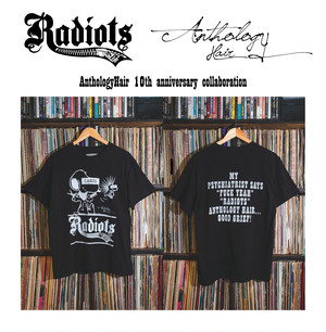 [予約商品] RADIOTS×AnthologyHair  T-shirts / Black...