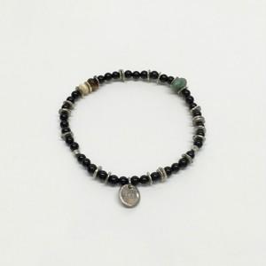 amp japan/Round Onyx Bracelet