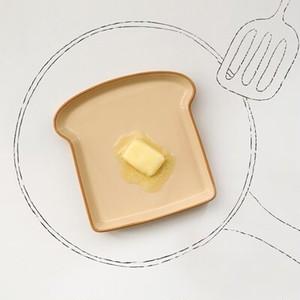 bread plate / ブレッド プレート 食パン型 お皿 おうちカフェ 韓国雑貨