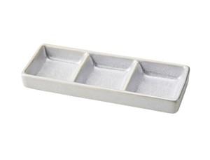 フリールホワイト 三点盛仕切り皿