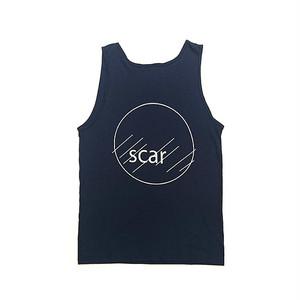 scar /////// CIRCLE TANK TOP (Navy)