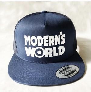 MODERN'S WORLD MESH CAP Navy