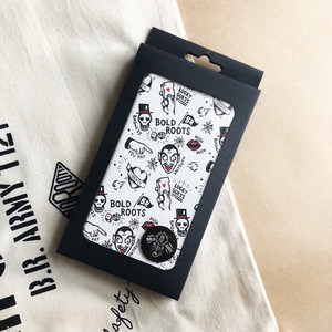 BOLDROOTS TRADITIONAL iPhone CASE