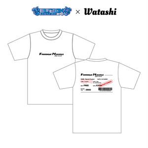 Watashi Product × FREEDOM NAGOYA 2021-EXPO- Collaboration T-shirts