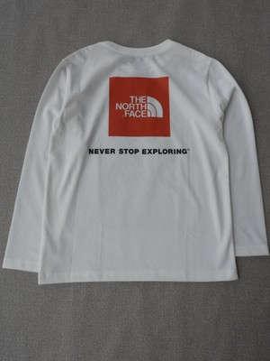 THE NORTH FACE【L/S Square Logo Tee】KN