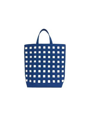gingham tote ギンガムトート 20 ブルー