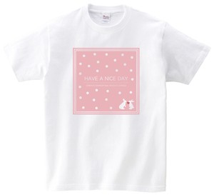 『HAVE A NICE DAY』発売記念 Tシャツ(ピンク)