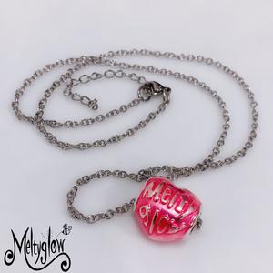 【大特価イベント商品】Meltyピンクハートネックレス