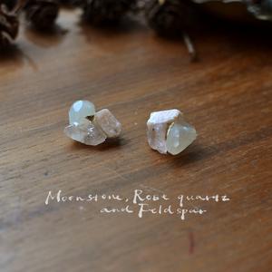 天然石の耳飾り8