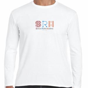 Samurai Rhythm Academy_ロンTシャツ(WT)+配送料500円が込みになります