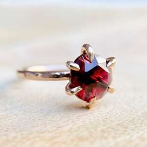 Bibelot LA ::: Garnet Ring