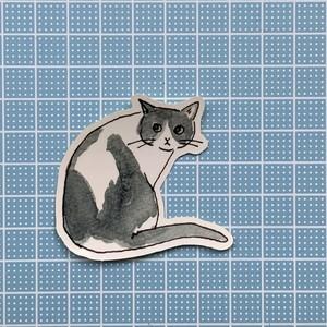 【S03】ステッカー(calendarcat)