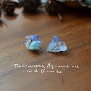 天然石の耳飾り7