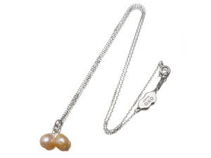 限定40本 淡水真珠ネックレス