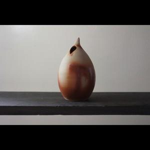 """花を美しく魅せる和モダンな器 陶芸作家【大江一人】""""Shizuku"""" Flower Vase 花器"""