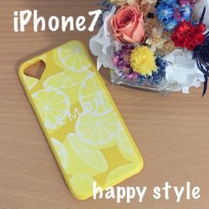 iPhone7ケース 爽やかレモン Lemon