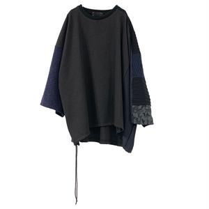 【オーダー受付】Wide-T-shirts mut(navy)