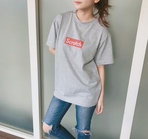 Scratch Tシャツ(グレー)