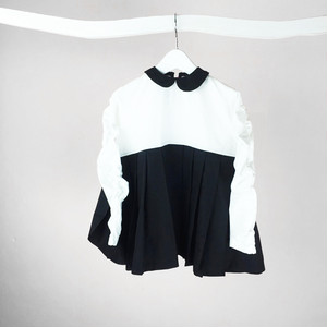 RING MATELASSE COLLAR DRESS / WOMEN