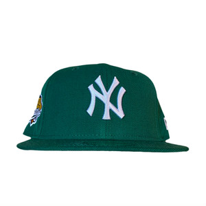NEW ERA New York Yankees 1999 World Series 59Fifty Fitted / Green×White (Gray Brim)