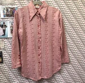ダルメシアン 70s ジャカードシャツ
