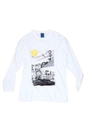 NO.420 宇都宮nanameの見えるロングTシャツ【栃木】【XXLサイズ】