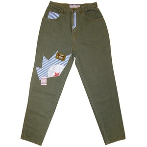 """Gregory Stuart"" Vintage Color Denim Pants Used"
