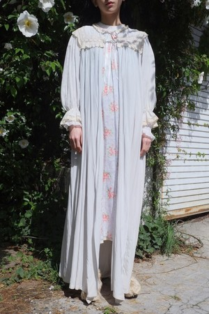 vintage/yakusoku ice blue gown.