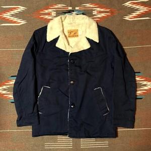 60's ビンテージ シアーズ ランチジャケット 内ボア Sears WESTERN WEAR デニムジャケット L程度