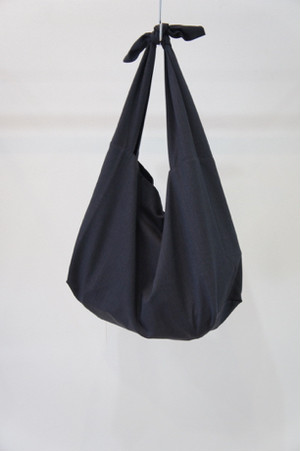 よそいきトートBAG -NAVY GRAY- / Dulcamara