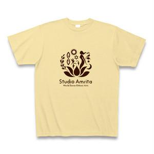 Studio Amrita オリジナルTシャツ(ナチュラル)