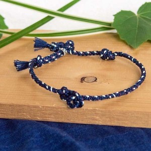 men's & ladies■kumo bracelets(navy blue)