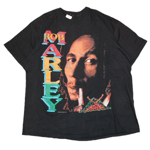 """Bob Marley / Buffalo Soldier"" Vintage Reggae Tee Used"
